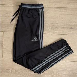 Adidas - S Black and Grey track pant